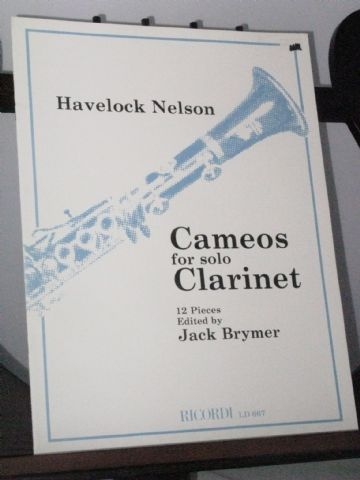 Nelson H - Cameos for Solo Clarinet